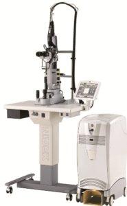 マルチカラーレーザー光凝固装置 MC-500Vixi (当院はMC-7000)